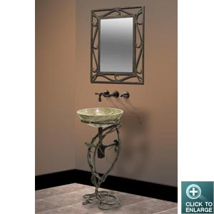 IRON STAND DLVET-01 with MIRROR