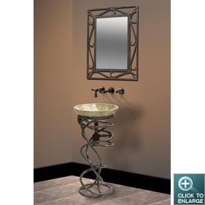 Genial IRON STAND DLVET 02 With MIRROR