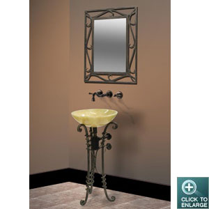 IRON STAND DLVET-03 with MIRROR
