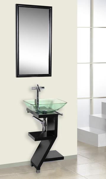 DLVG 208MH DREAMLINE MODERN GLASS BATHROOM VANITY SET  eBay