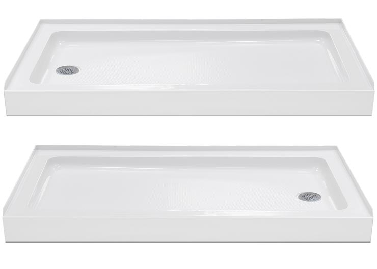 ... AMAZON SHOWER TRAY Details: LEFT U0026 RIGHT DRAIN ...
