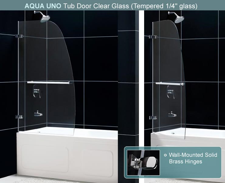 Looking for a modern tub door ... & Aqua Lux Bathtub Door. DreamLine Frameless Tub Door. Glass ... Pezcame.Com